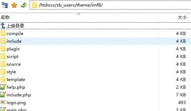 zblogphp网赚博客主题模板如何修改?分享常见文件路径