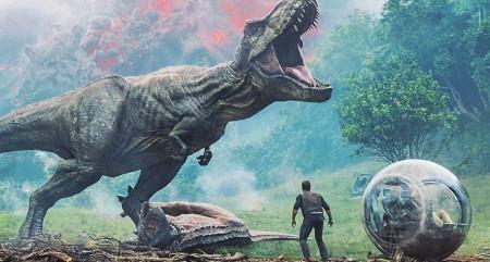 推荐一部科幻冒险片:《侏罗纪世界2》
